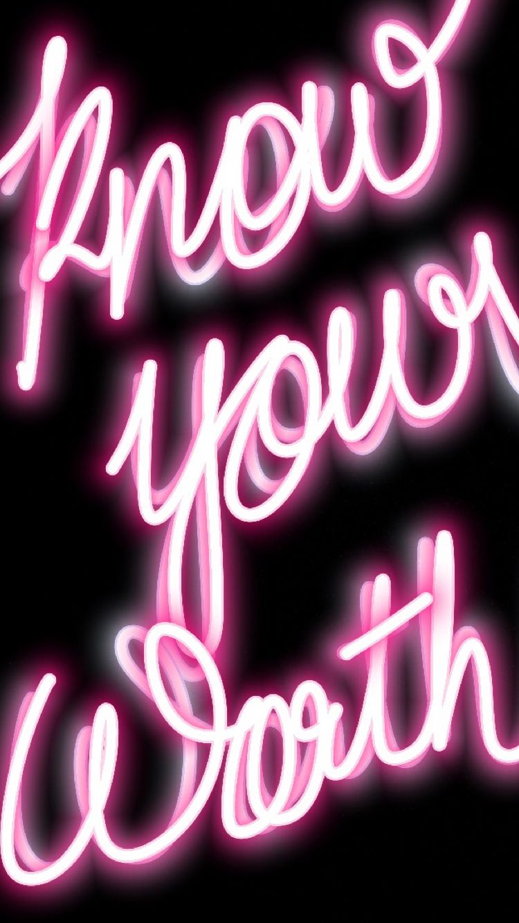Pin by Seyj on Neon Pink themes, Sign quotes, Pink pages