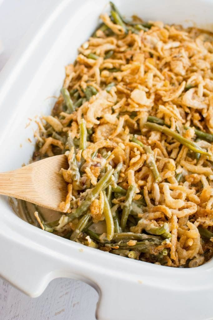 Slow Cooker Green Bean Casserole From Slow Cooker Gourmet Green Bean Casserole Crock Pot Greenbean Casserole Recipe