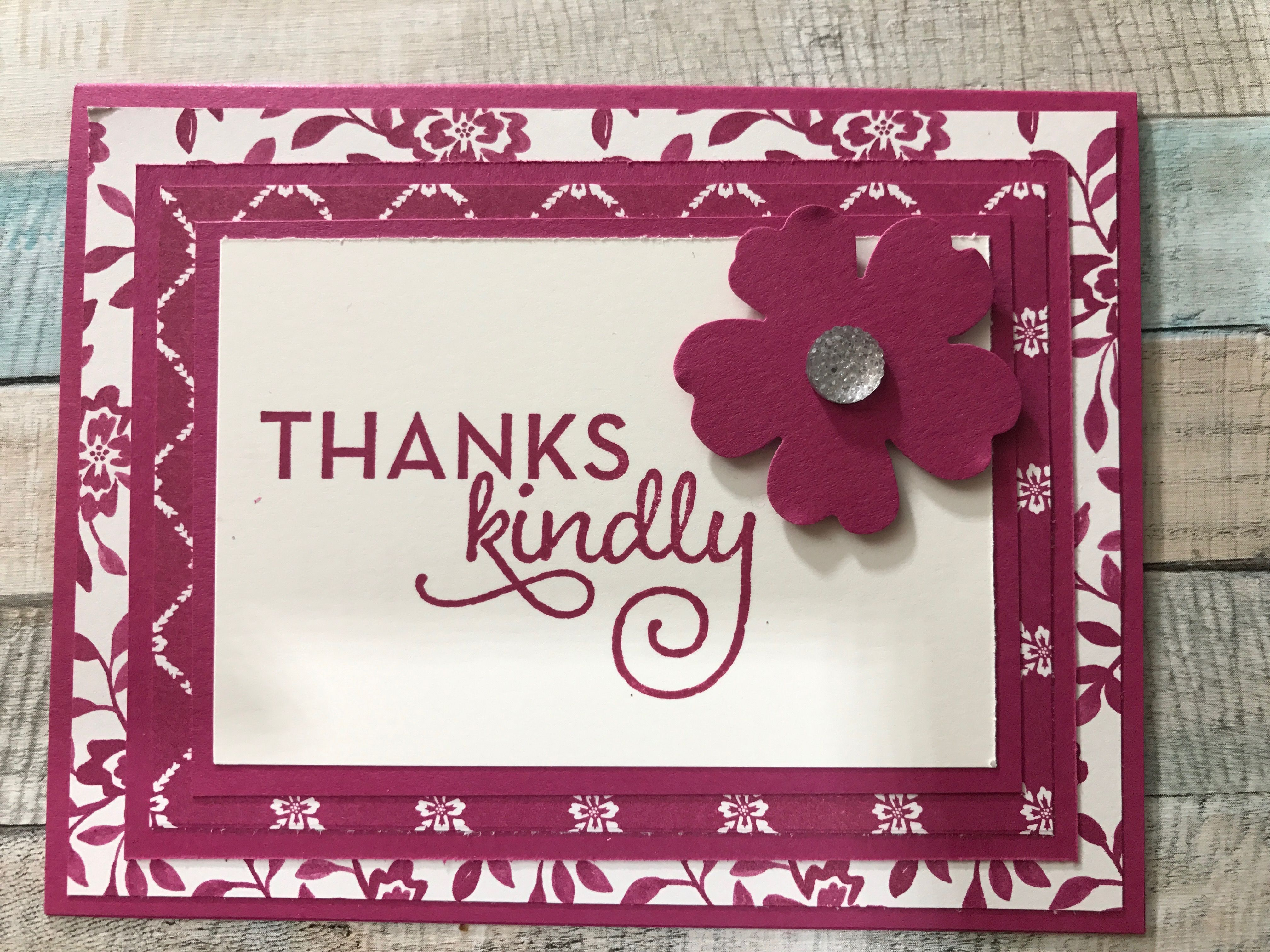 One big meaning stamp set fresh florals dsp stampin up cards i one big meaning stamp set fresh florals dsp flower shopsbaby cardspaper izmirmasajfo Images