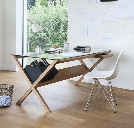 escritorio madera mara