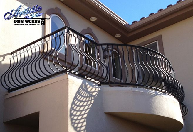 Wrought Iron Balcony Railings With Belly Pickets
