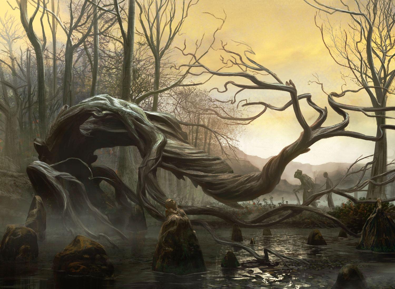 swamp art - Поиск в Google   Swamp   Pinterest   2d ...
