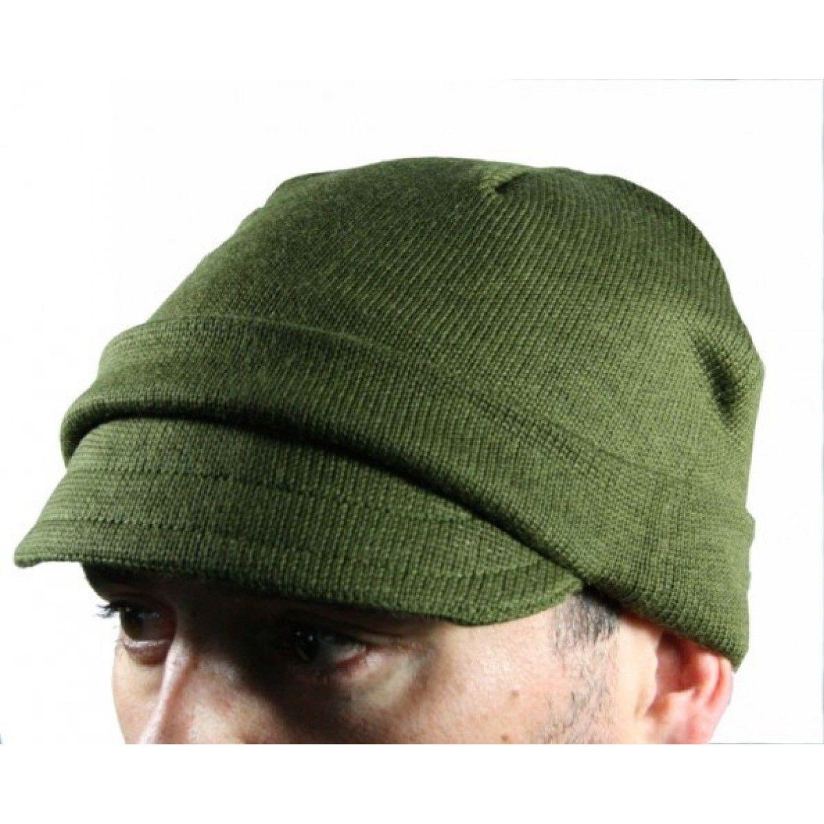 be7f6c5b2dd New Italian Wool Jeep Cap