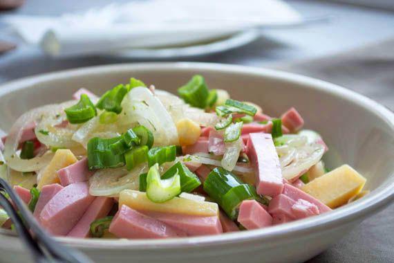 fleischsalat wurstsalat rezepte