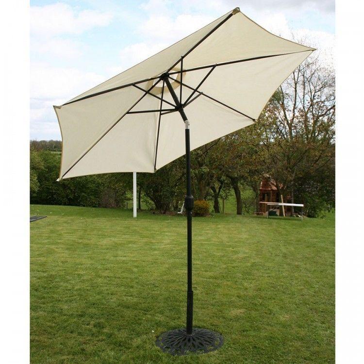 Garden Parasol Umbrella Market Outdoor Patio Sun Shade Waterproof Canopy White & Garden Parasol Umbrella Market Outdoor Patio Sun Shade Waterproof ...