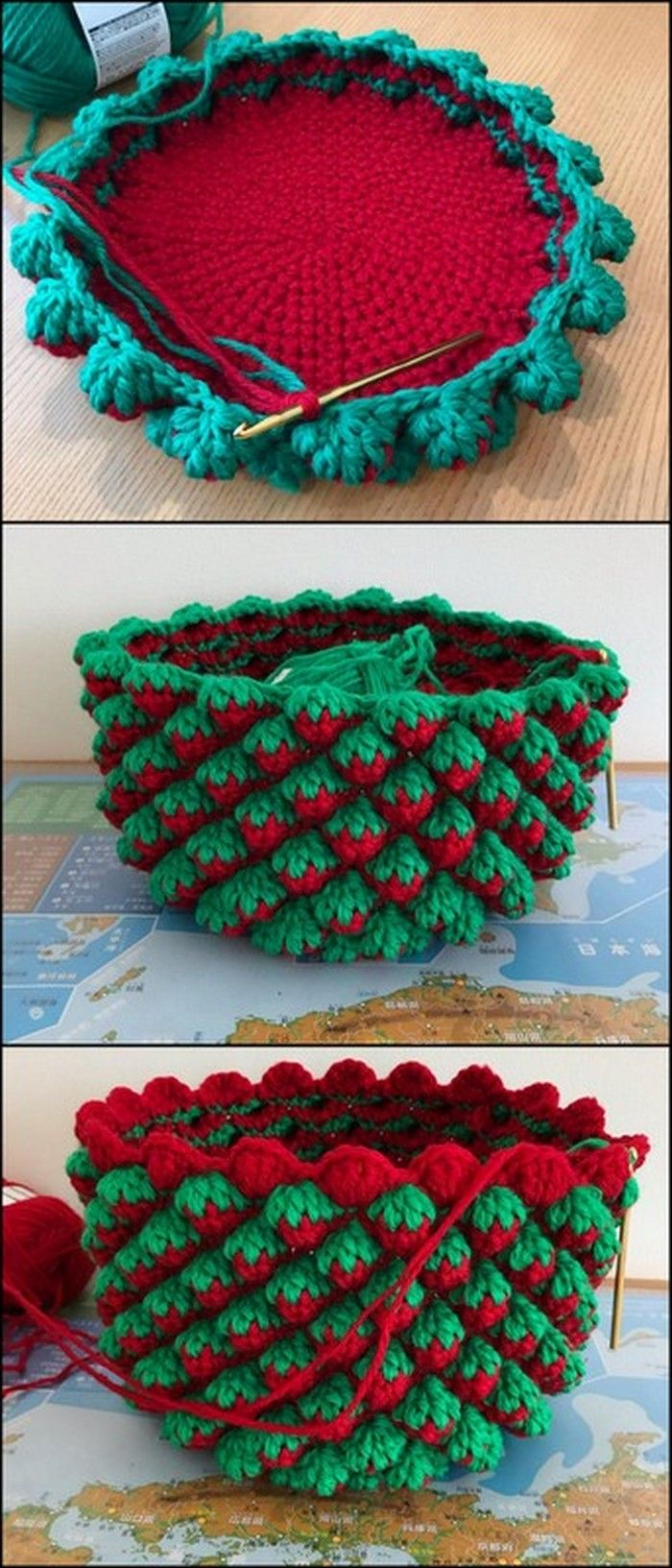 50 Attractive DIY Crochet Pattern Ideas & Appealing Designs #crochethandbags
