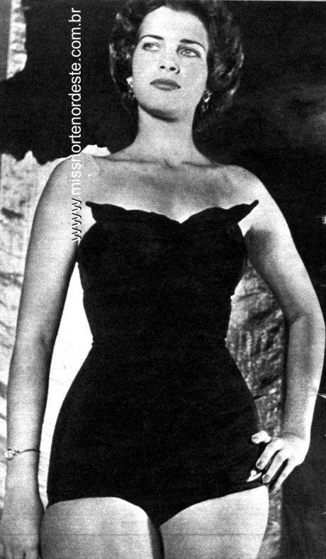 Martha Rocha a primeira Miss Brasil.