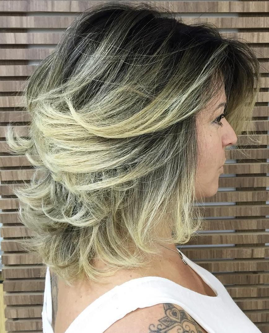 best variations of a medium shag haircut for your distinctive