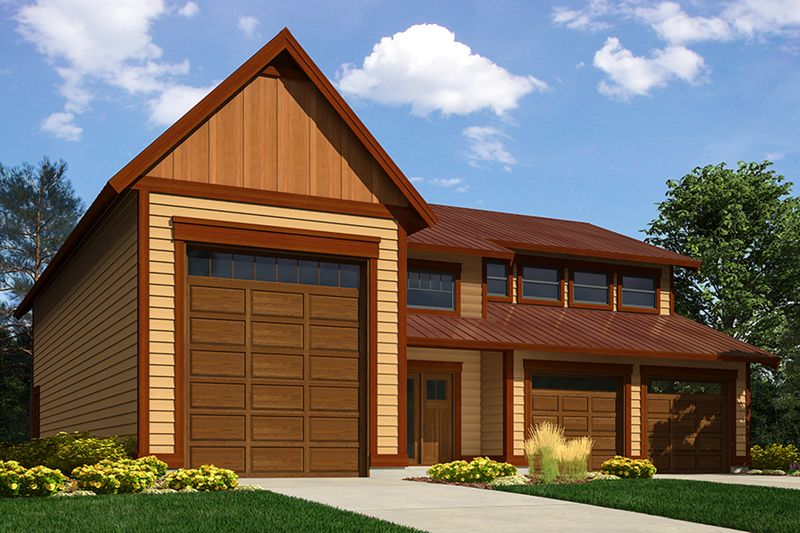 Cottage Style House Plan 3 Beds 2 Baths 1550 Sq Ft Plan 430 64 Garage Apartment Plans Garage With Living Quarters Garage Plans With Loft