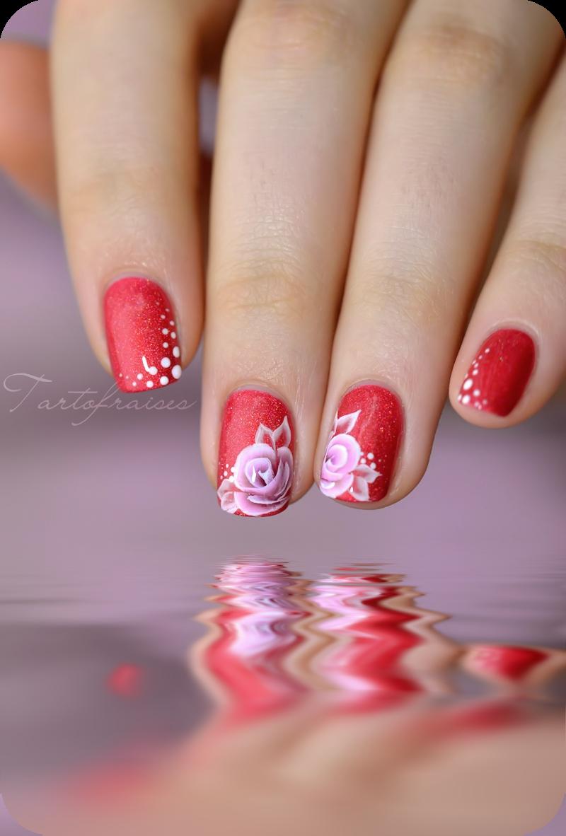 Tartofraises Nail Nails Nailart Tartofraise Pinterest Nail