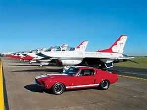 Image result for USAF thunderbirds car