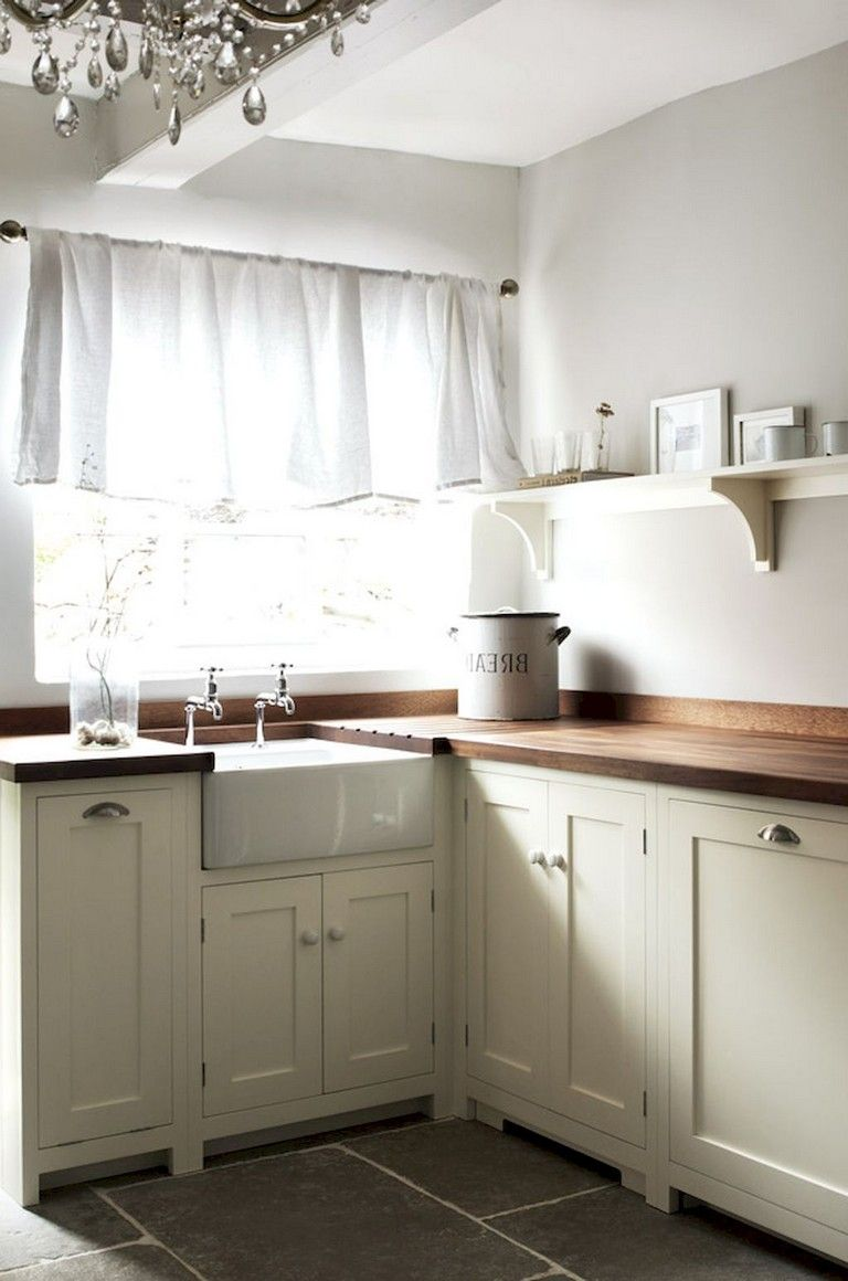 70 beautiful farmhouse kitchen curtains decor ideas