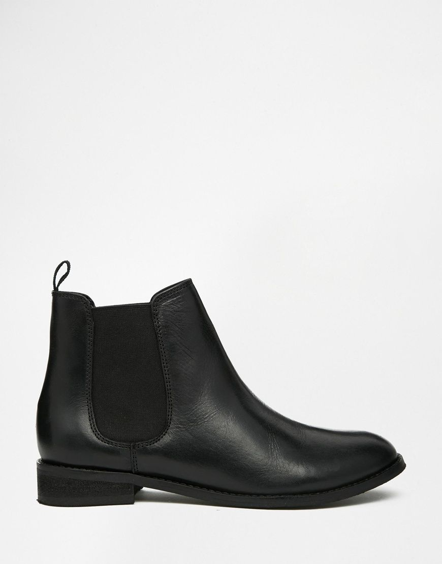 ASOS AIRBOUND Leather Chelsea Ankle Boots at asoscom