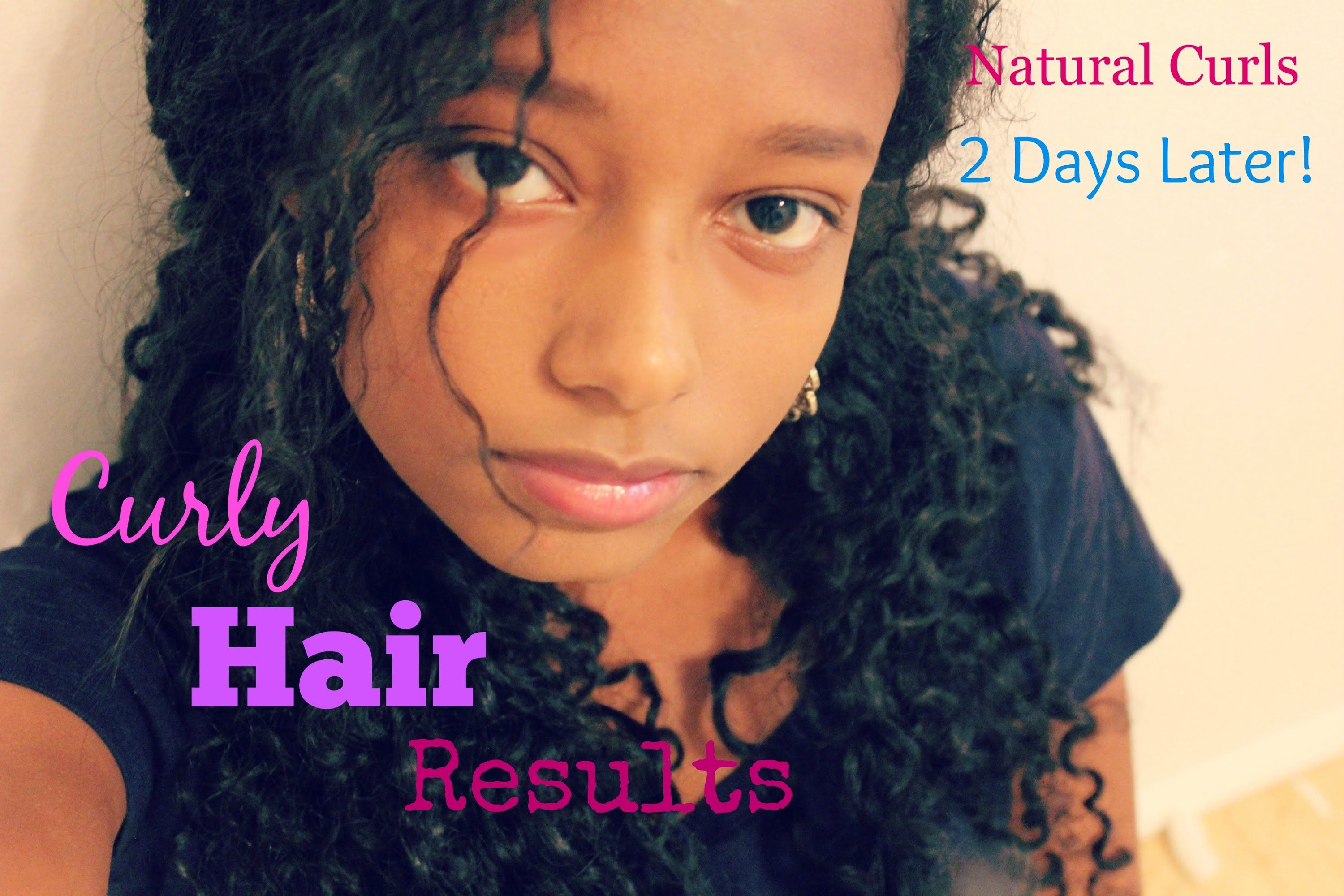 Curly hair routine results days later hair pinterest curly