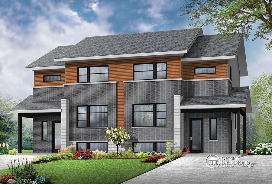 W3064, plan de maison, maison, appartement, apartment, logement