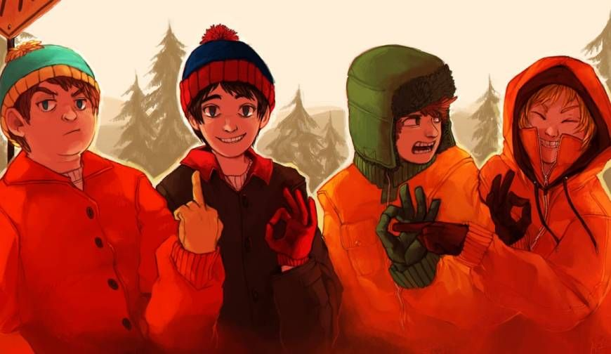 19 Examples Of South Park Characters Drawn Weirdly Realistically South Park Fanart South Park Anime Kenny South Park