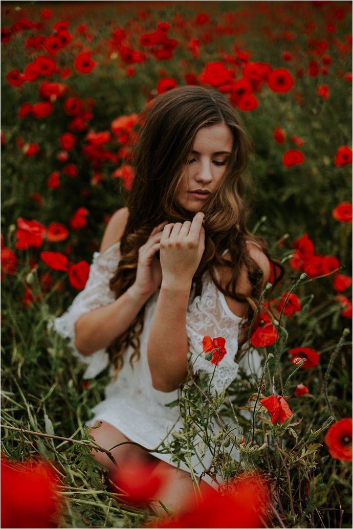 Beautiful Poppy Fields- Fashion & Bridal Inspiration...