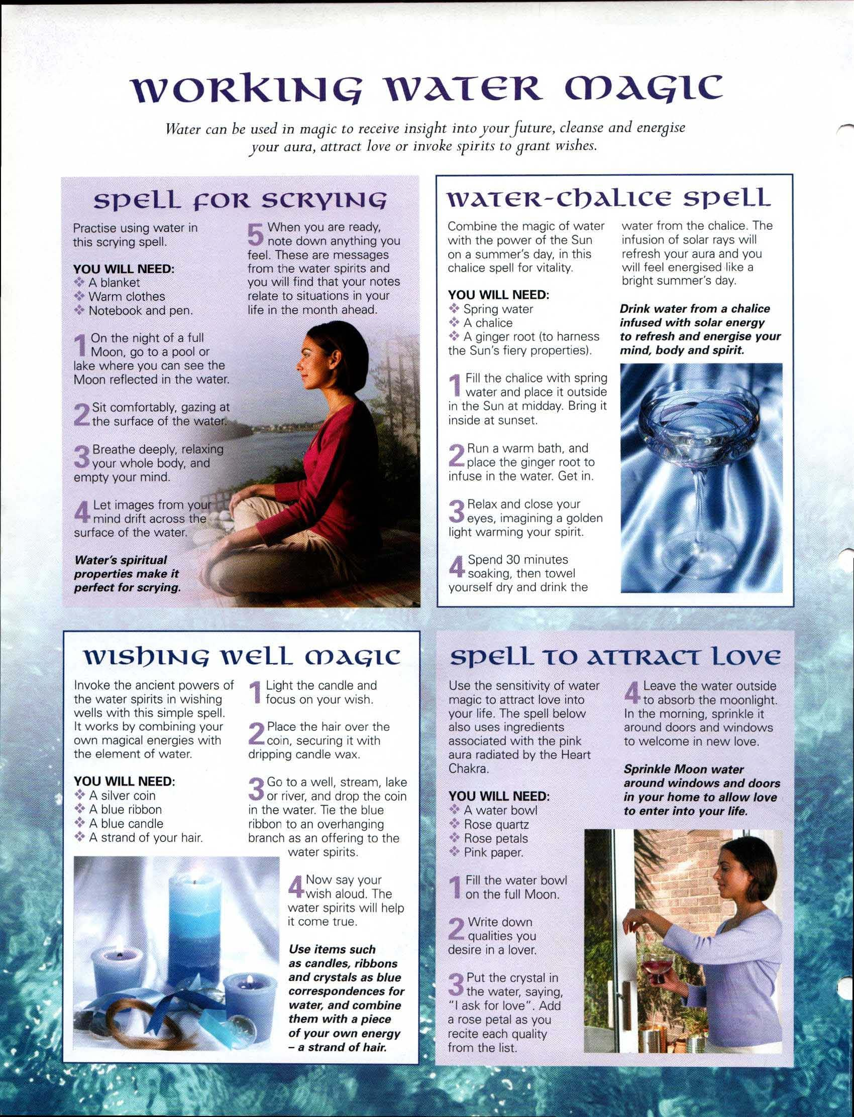 Working Water Magick