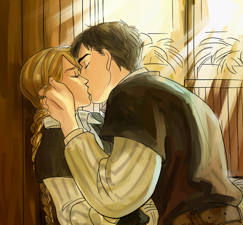 Chaol and Celaena!