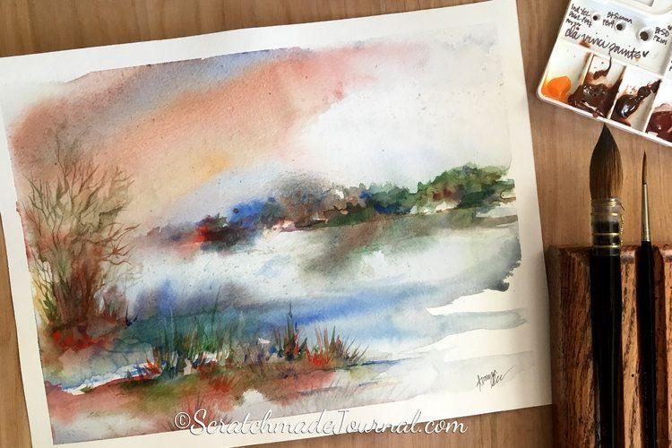 How To Mix Black Watercolor Watercolor Watercolor Art Diy