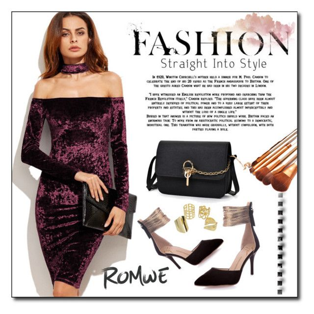 """ROMWE 8"" by woman-1979 ❤ liked on Polyvore"