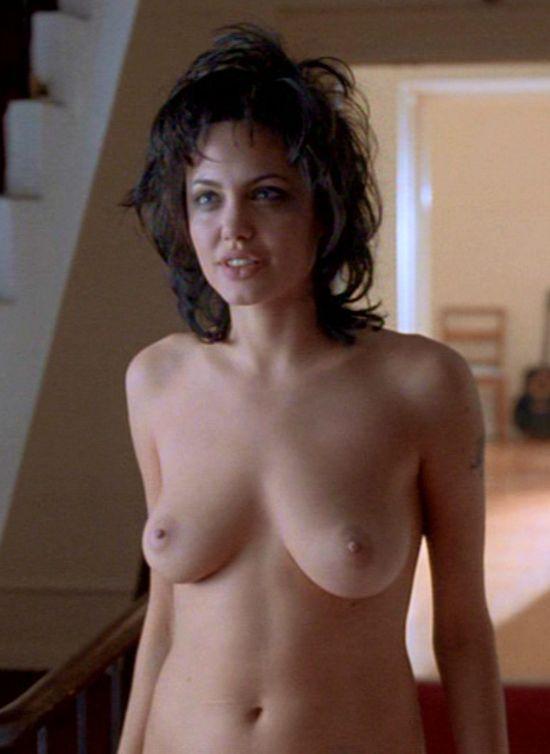 Can look Angelina jolie nude nipples