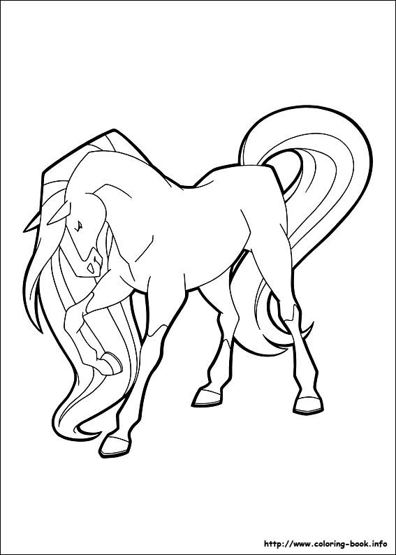 Horseland coloring picture Templates Pinterest Coloring