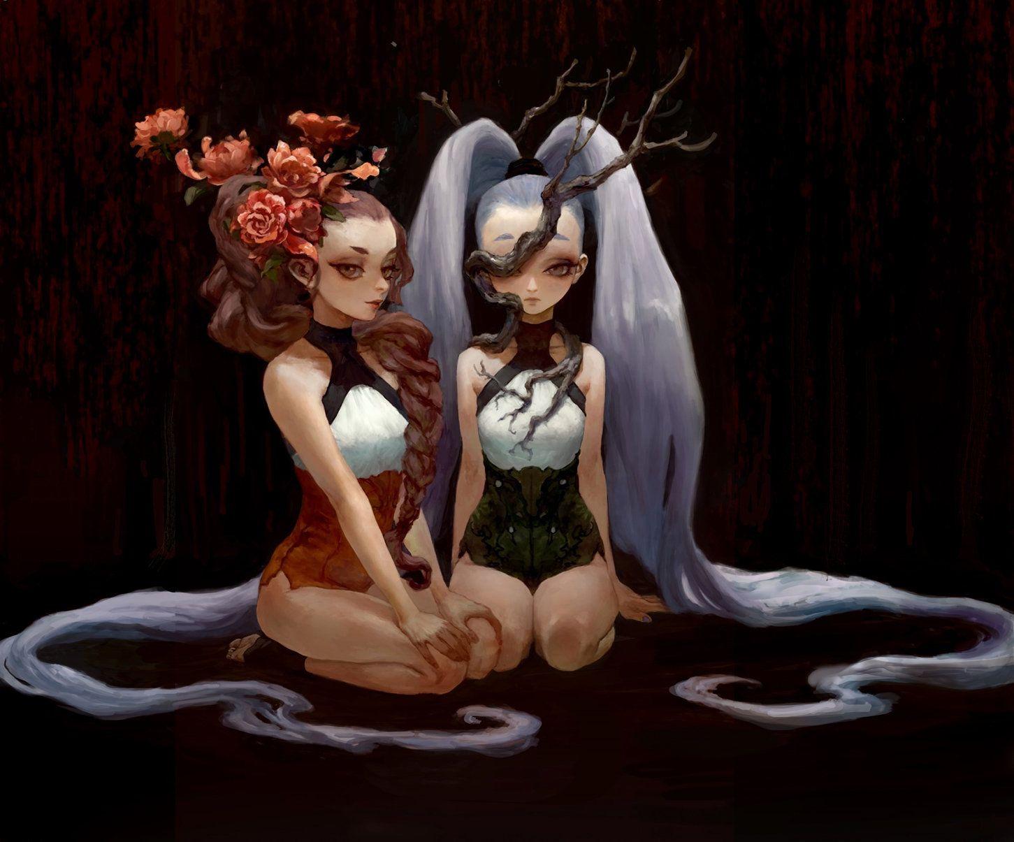 fraternal twin, Log .h on ArtStation at https://www.artstation.com/artwork/RYkvE