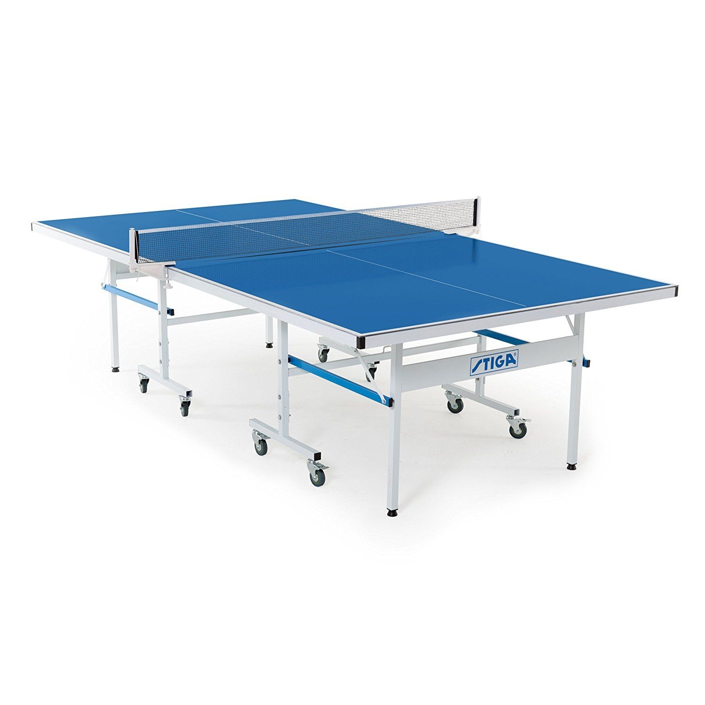 Amazon Com Stiga Xtr Outdoor Table Tennis Table Sports