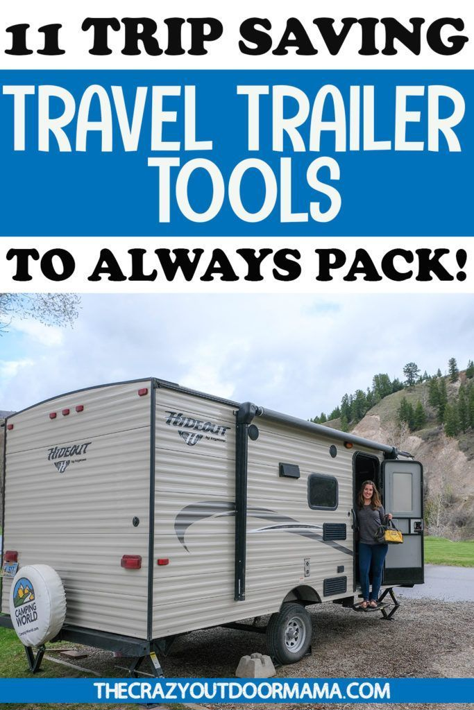 Photo of 9 Basic Tools Every RV'er Needs to Carry in their RV Toolbag!! – The Crazy Outdoor Mama