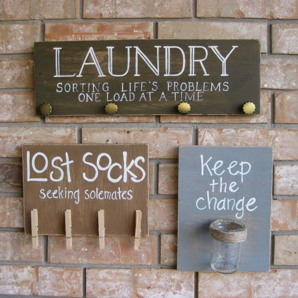 I also like the idea of putting a piggy bank in laundry room for