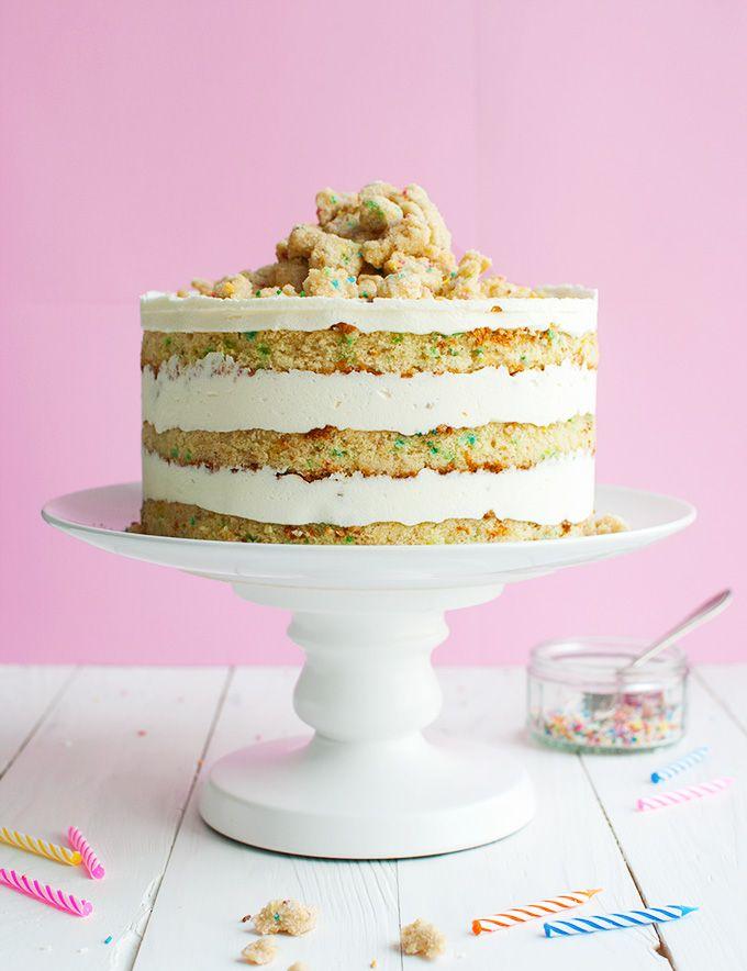 Peachy Momofuku Birthday Cake I Adapted The Original Recipe For Funny Birthday Cards Online Fluifree Goldxyz