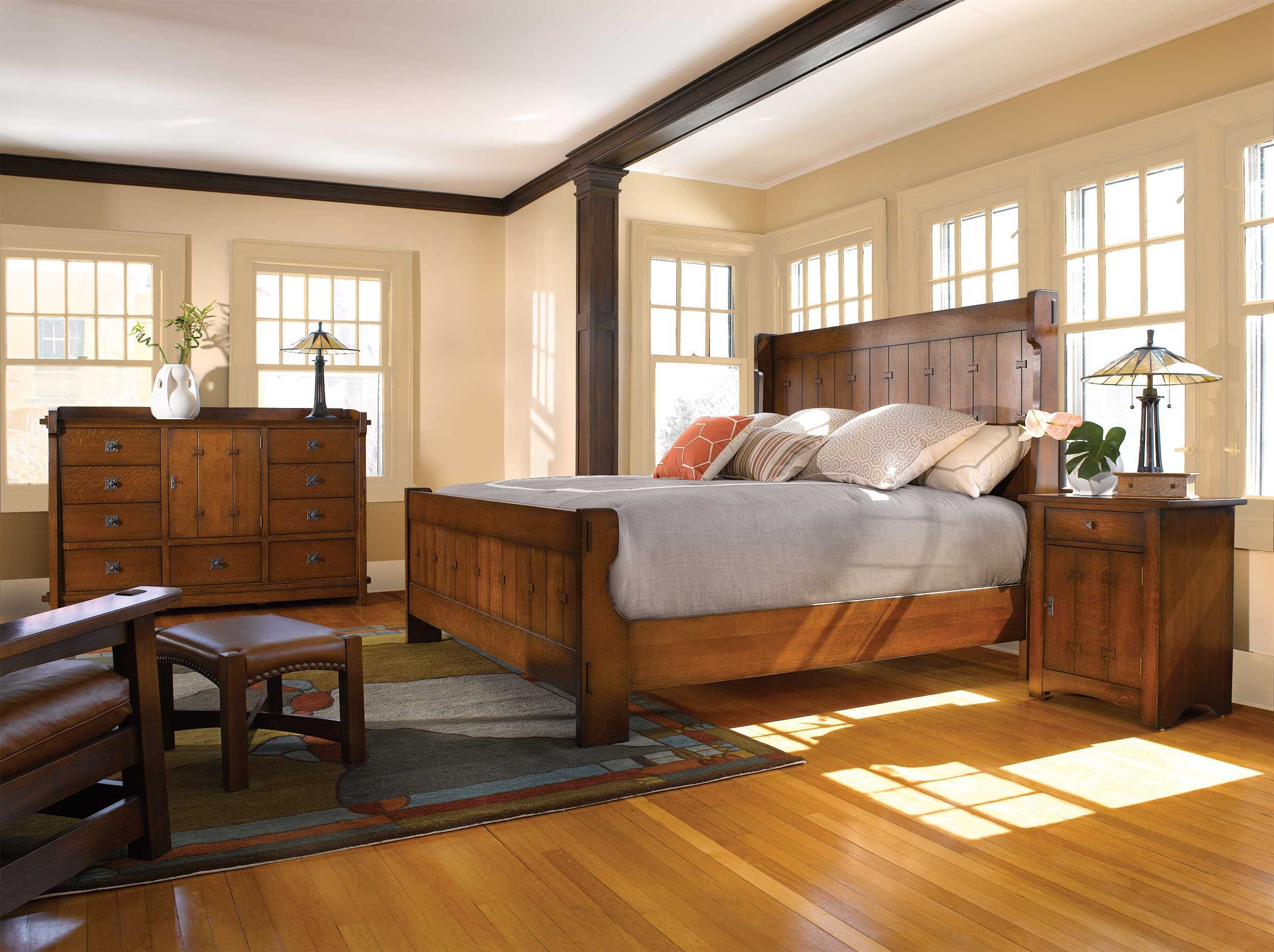 Stickley Gus Settle Bed | Get The Latest Stickley Furniture Designs At The Heritage  House Home