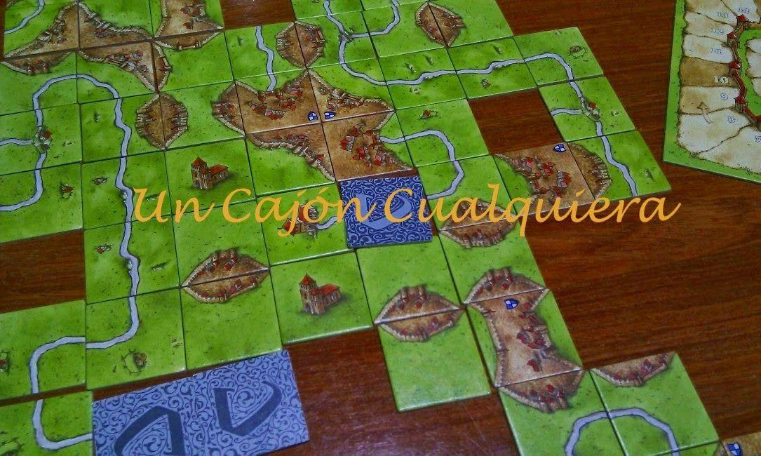 Carcassonne, juego de mesa de estrategia para toda la familia