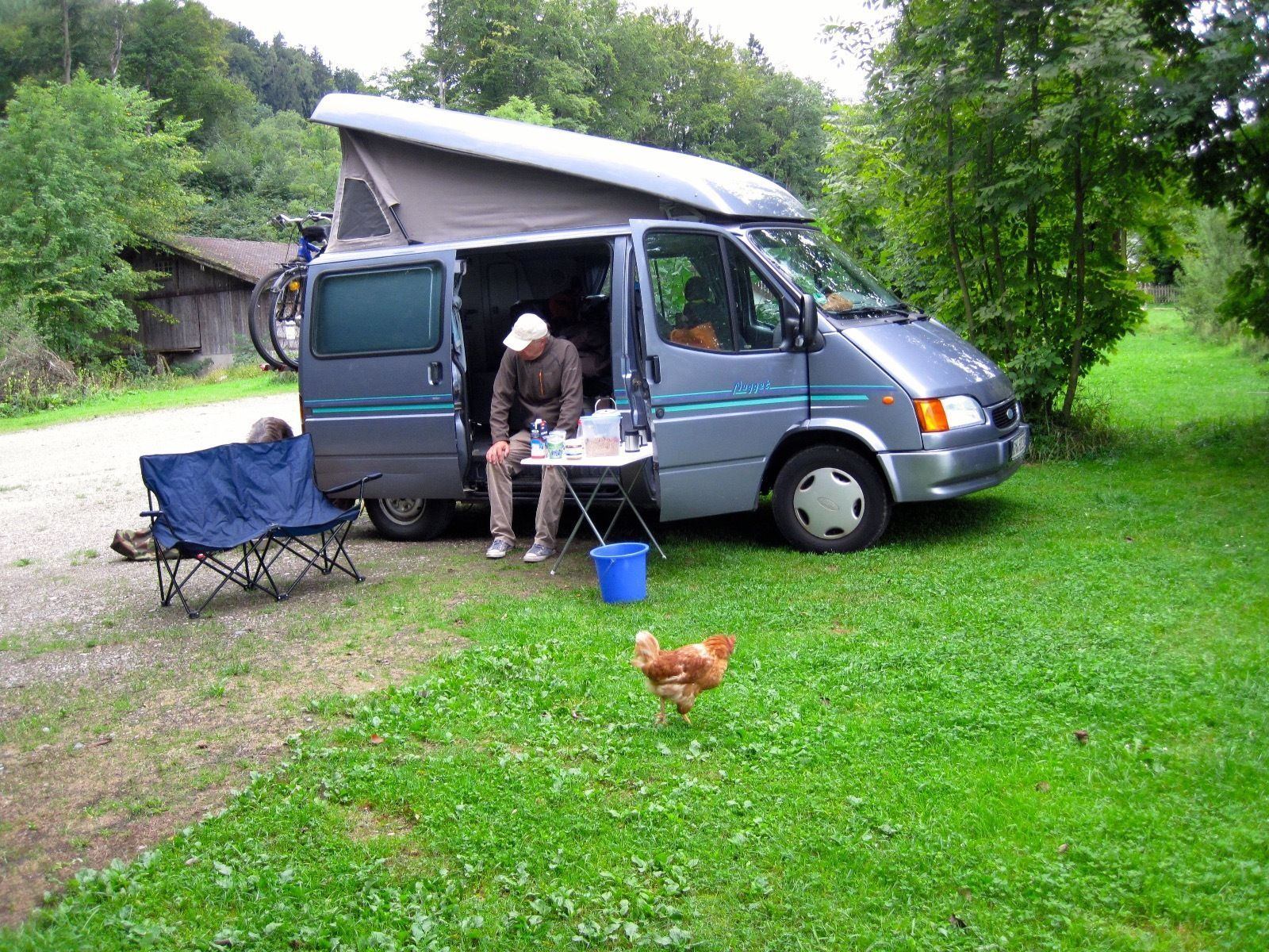 wohnmobil ford transit nugget bj 1997 ebay motorhome campers caravan pinterest. Black Bedroom Furniture Sets. Home Design Ideas