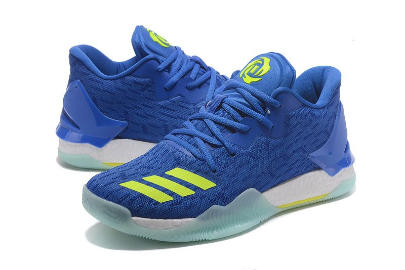 """new style 8e1fb 08fb1 Adidas D Rose 7 """"Royal Blue Green""""Sneakers for Sale 40-46"""