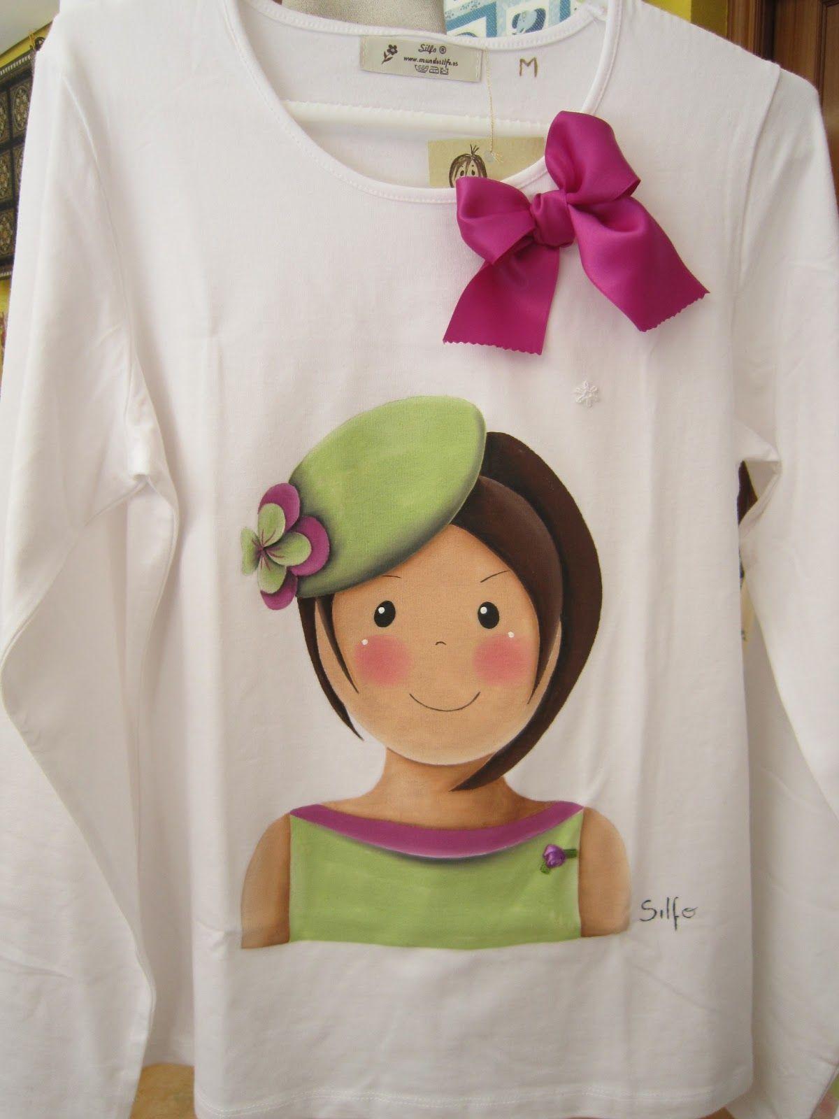 Laura San Jos Patchwork Primavera Pinterest Pintura En  ~ Ideas Para Decorar Camisetas Infantiles