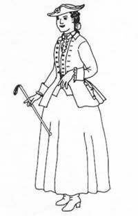 MF15 -   1740-1780 Riding Habit Pattern