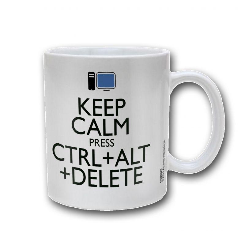 Mug Keep Calm Ctrl Alt Delete