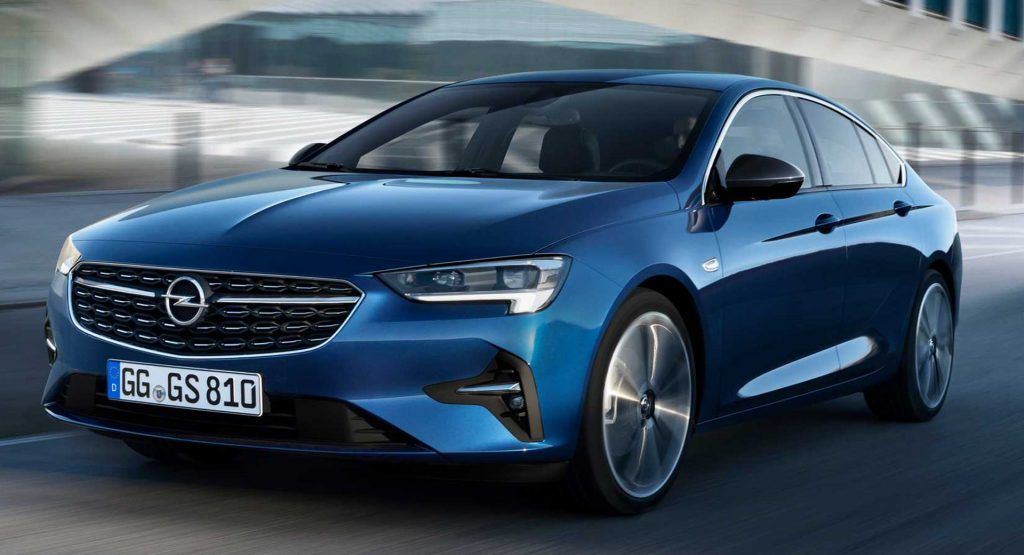 2020 Opel And Vauxhall Insignia Revealed With Minor Styling And Tech Updates Vauxhall Insignia Opel Vauxhall