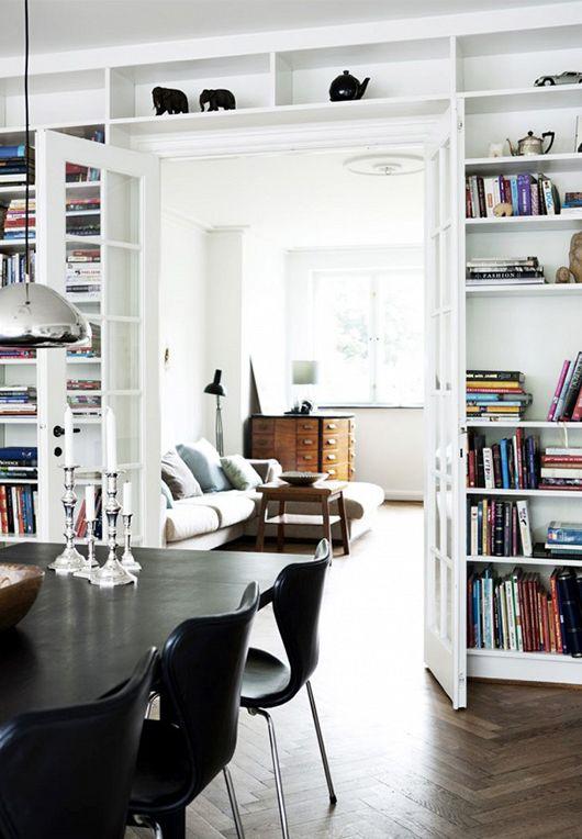 Wohnzimmer Durchgang Architekt Pinterest Wohnzimmer, Regal - hausbibliothek regalwand im wohnzimmer