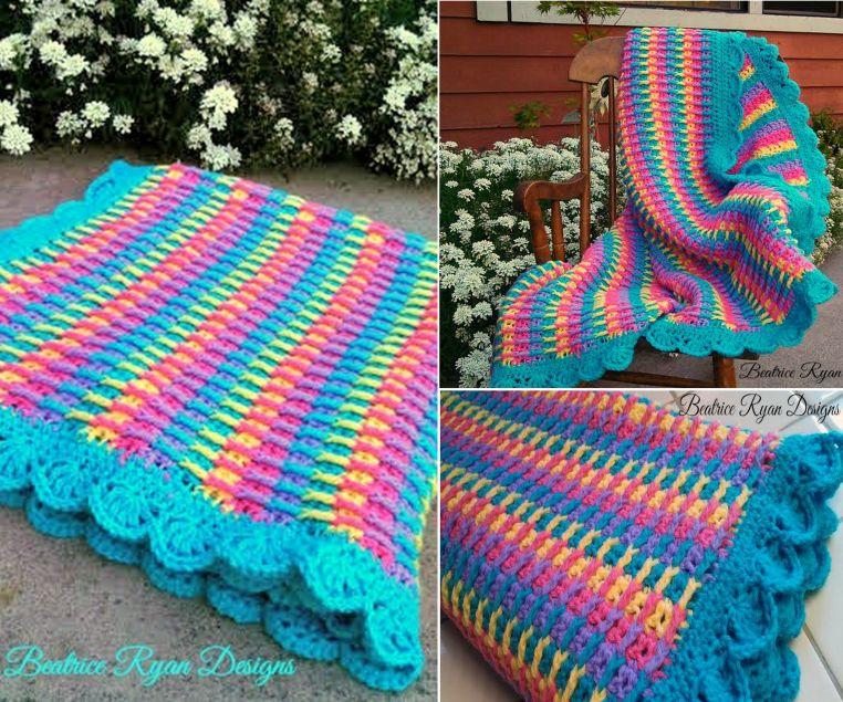 Rainbow Dash Baby Blanket Pattern Free Get The Details Now | Strick ...