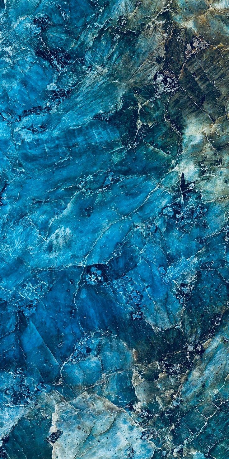 Cobalt Blue Stone Ceiling Texture Abstract