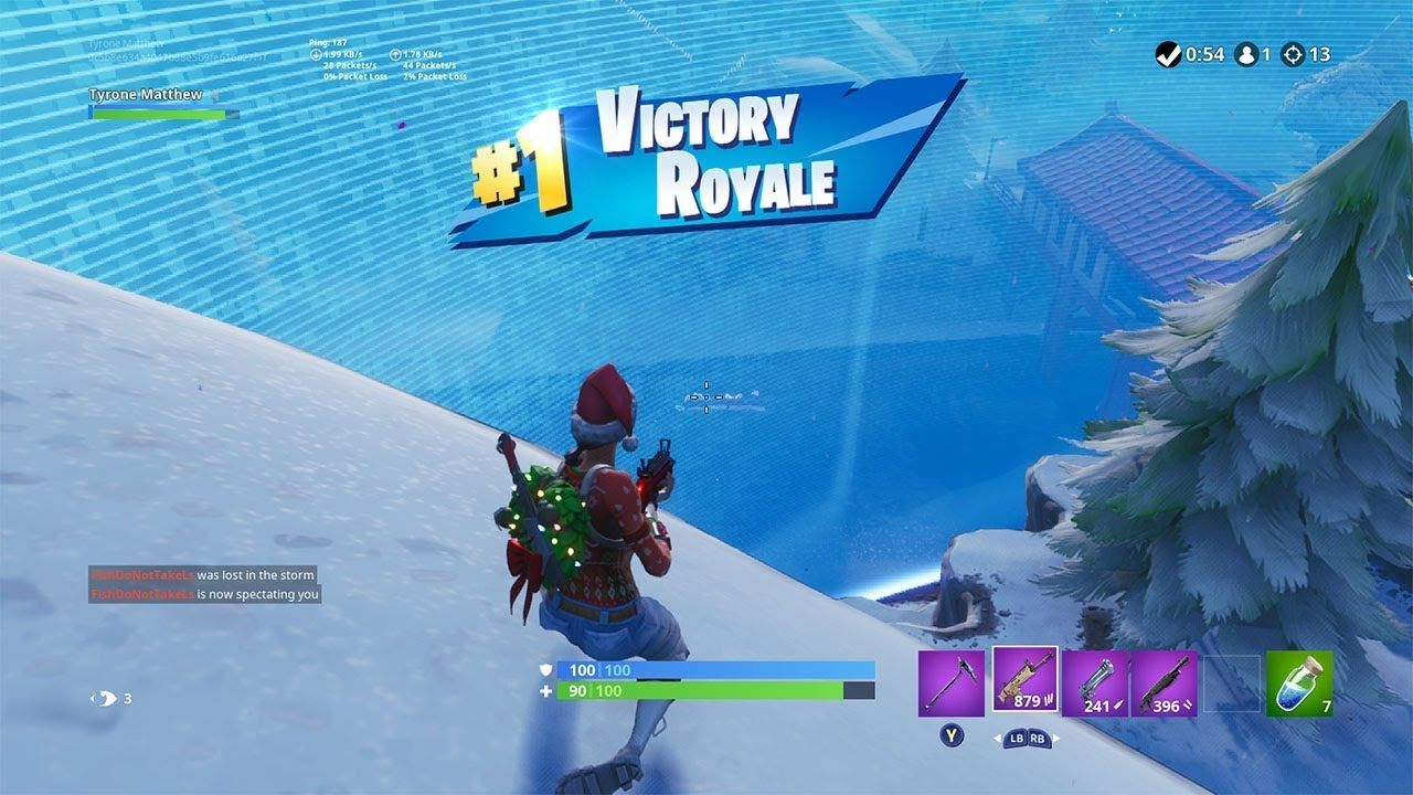 I Got A 13 Kill Solo Win In Fortnite Fortnite Battle