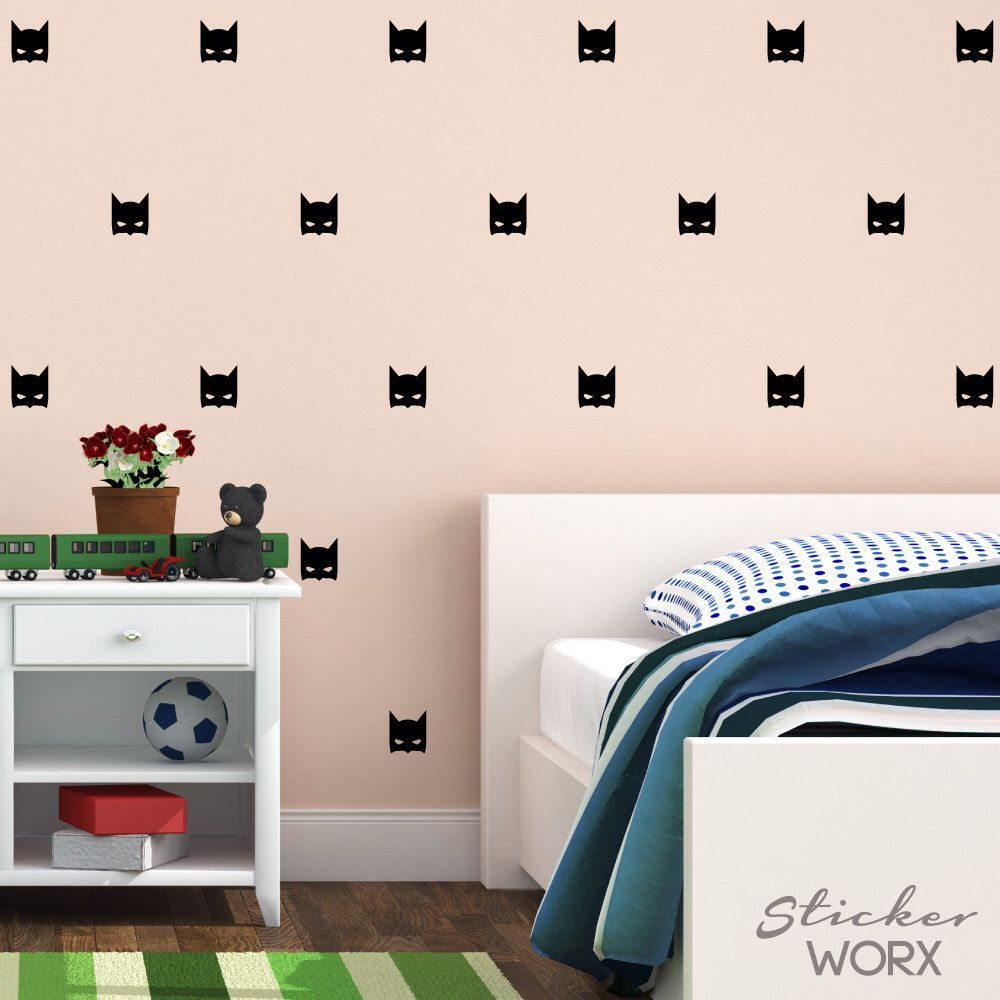 Superhero Wall Decals Wall Stickers Wall Art By StickerWorx On - Superhero wall decals application
