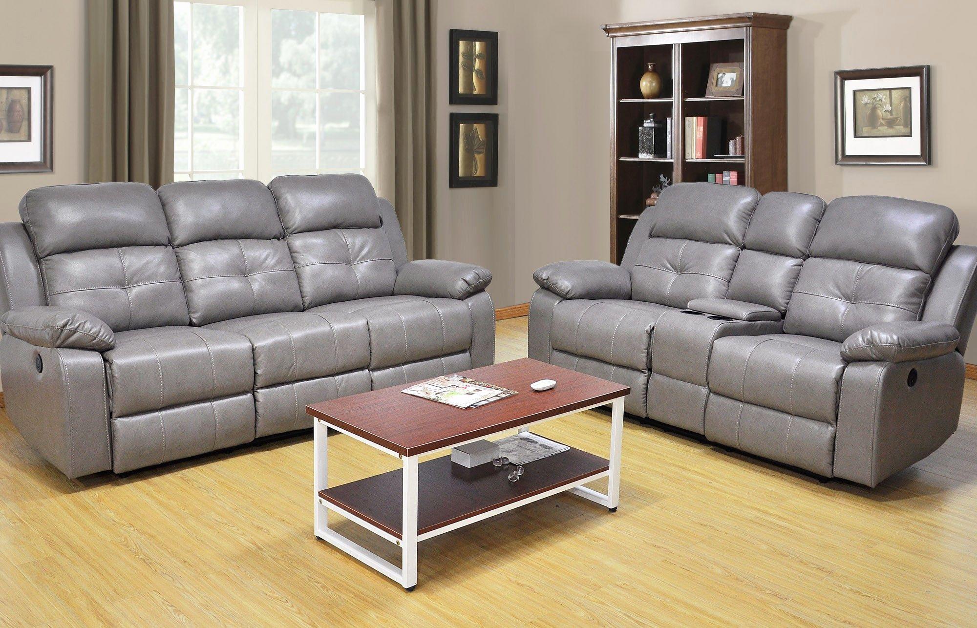 Idea Power Reclining Sofa And Loveseat Sets Pics Power Reclining Sofa And Loveseat Sets Lovely 2 Piece Gray Sofa And Loveseat Set Loveseat Living Room Sofa Set #power #living #room #sets