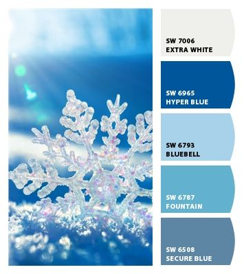 snowflake brights in 2020 | Color schemes, Bullet journal ...