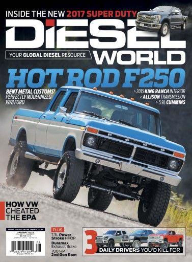 1996 Ford F250 Lifted : lifted, Metal, Customs, Classic, Trucks,, F250,, Diesel