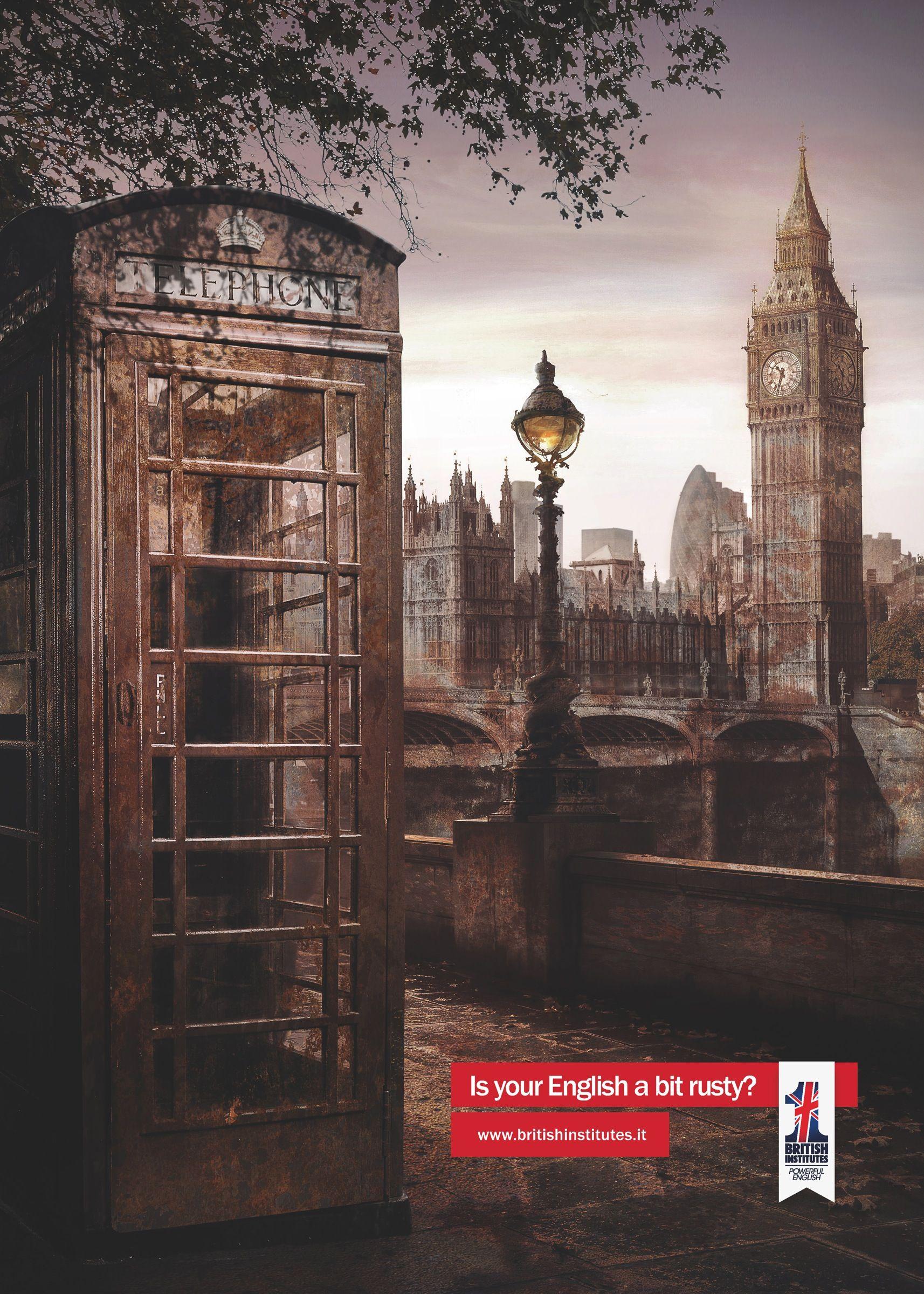 Werbekampagne Englisch