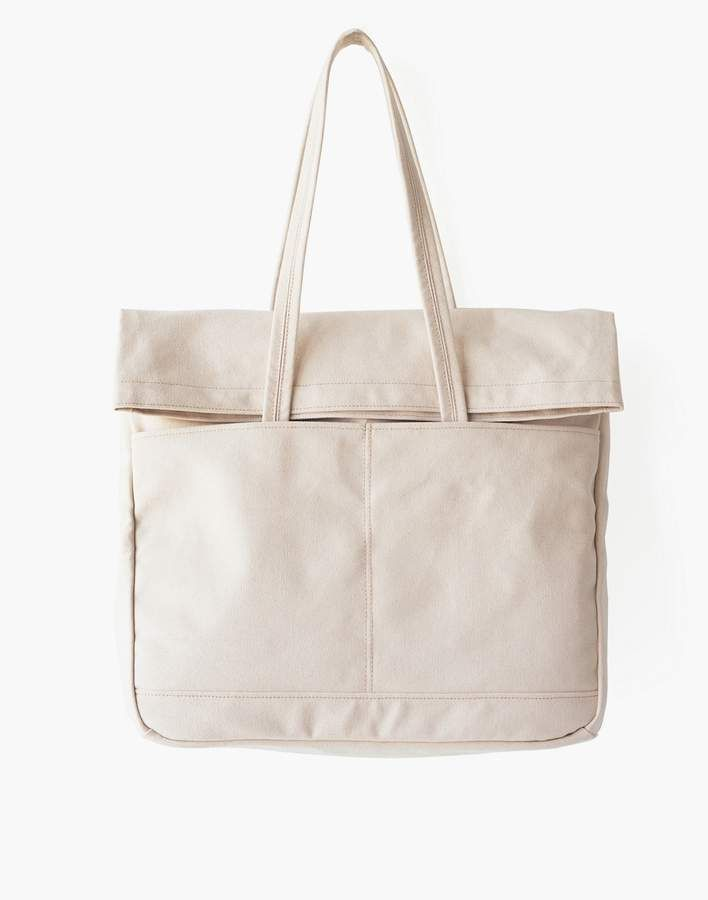 53391f24c MAKR Canvas and Leather Fold Weekender Bag in 2019 | Products | Bags ...